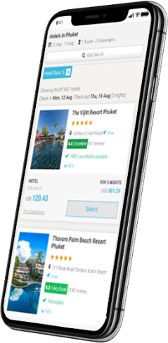 hotel search mobile